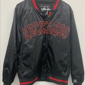 Men's Young and Reckless Bomber Jacket Large